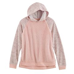 Girls 7-16 SO® Fleece Pullover Hoodie