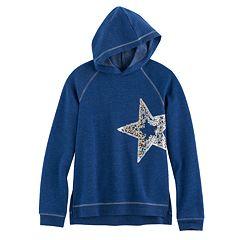 Girls 7-16 SO® Sequin Fleece Sweatshirt