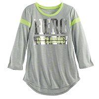 Girls 7-16 & Plus Size SO® 3/4-Sleeve Football Tee