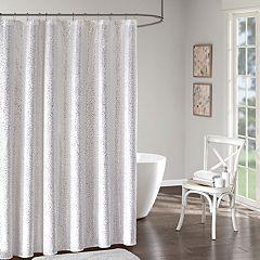 Intelligent Design Everly Printed Shower Curtain