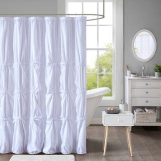 Intelligent Design Quinn Printed Shower Curtain