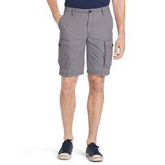 Big & Tall IZOD Seaside Classic-Fit Mini-Ripstop Cargo Shorts