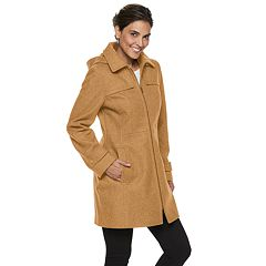 Women's TOWER by London Fog Zip-Front Wool Blend Jacket
