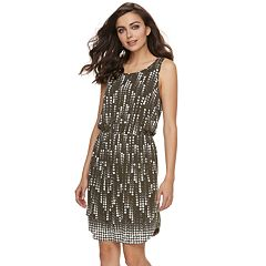 Women's Apt. 9® Textured Blouson Dress