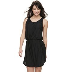 Women's Apt. 9® Textured Blouson Dress