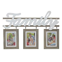 Melannco 'Family' 3-Opening 4' x 6' Collage Frame