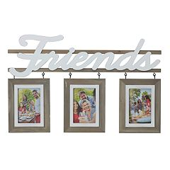 Melannco 'Friends' 3-Opening 4' x 6' Collage Frame