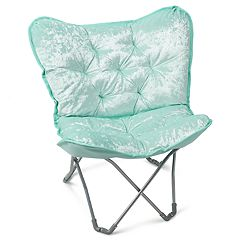 Simple by Design Sherpa Memory Foam Butterfly Chair
