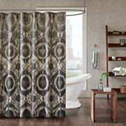 INK+IVY Orissa Printed Shower Curtain