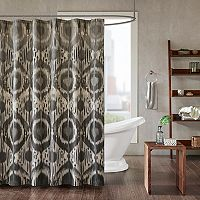 INK+IVY Orissa Printed Shower Curtain