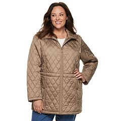Plus Size TOWER by London Fog Quilted Jacket
