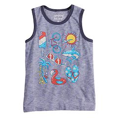 Boys 4-10 Jumping Beans® 'Warm Days' Graphic Tank Top