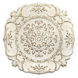 Stratton Home Decor Distressed Medallion Wall Decor