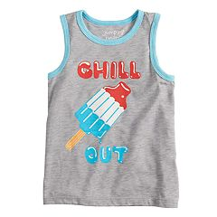 Boys 4-10 Jumping Beans® 'Chill Out' Graphic Tank Top