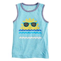 Boys 4-10 Jumping Beans® 'Fun In The Sun' Sun Graphic Tank Top