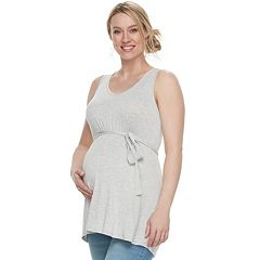 Maternity a:glow High-Low Tunic