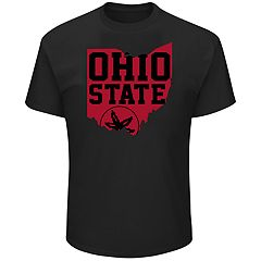 Men's Ohio State Buckeyes Distress Tee
