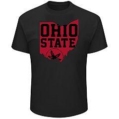 Men's Ohio State Buckeyes Distress Tee