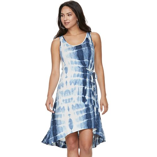 e49f21d1fc Women s Juicy Couture Tie-Dyed Knit Gathered Dress