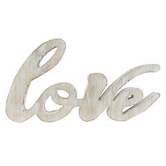 Belle Maison 'Love' Distressed Wall Decor