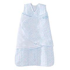 Baby HALO Muslin Turquoise Circles SleepSack Swaddle