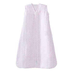Baby HALO SleepSack Pink Circles Muslin Wearable Blanket