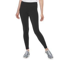 Petite Croft & Barrow® Tummy Control Midrise Leggings