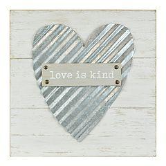 Belle Maison 'Love is Kind' Wall Decor