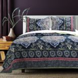 Twyla Midnight Quilt Set