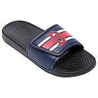 Men's Forever Collectibles Boston Red Sox Legacy Slide Sandals
