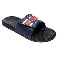 Men's Forever Collectibles Cleveland Indians Legacy Slide Sandals