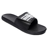 Men's Forever Collectibles Chicago White Sox Legacy Slide Sandals