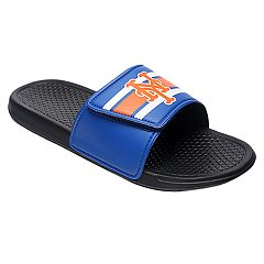 Men's Forever Collectibles New York Mets Legacy Slide Sandals