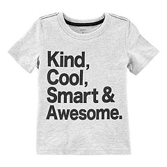 Boys 4-8 Carter's 'Kind, Cool, Smart & Awesome.' Tee