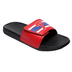 Men's Forever Collectibles Philadelphia Phillies Legacy Slide Sandals