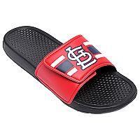 Men's Forever Collectibles St. Louis Cardinals Legacy Slide Sandals