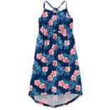Girls' 4-12 OshKosh B'gosh® Print High-Low Hem Midi Dress
