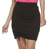 Juniors' Joe B Cinched Pencil Skirt