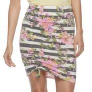 Juniors' Joe B Cinched Pencil Skirt