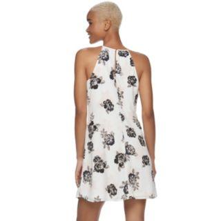 Juniors' Candie's® Floral Halter Dress