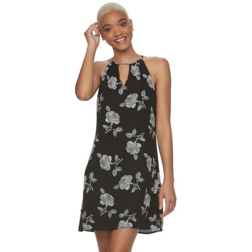Juniors' Candie's® Floral Halter Dress by Juniors' Candie's