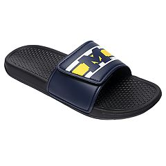 Men's Forever Collectibles Michigan Wolverines Legacy Slide Sandals