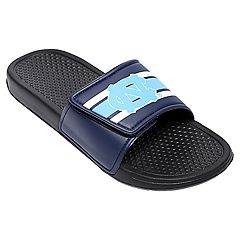 Men's Forever Collectibles North Carolina Tar Heels Legacy Slide Sandals