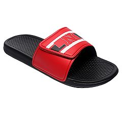 Men's Forever Collectibles Nebraska Cornhuskers Legacy Slide Sandals