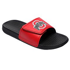 Men's Forever Collectibles Ohio State Buckeyes Legacy Slide Sandals