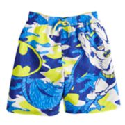 Boys 4-7 DC Comics Batman Camouflaged Swim Trunks