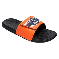Men's Forever Collectibles Auburn Tigers Legacy Slide Sandals