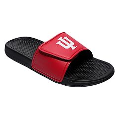 Men's Forever Collectibles Indiana Hoosiers Legacy Slide Sandals