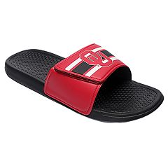 Men's Forever Collectibles Oklahoma Sooners Legacy Slide Sandals