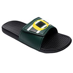 Men's Forever Collectibles Oregon Ducks Legacy Slide Sandals